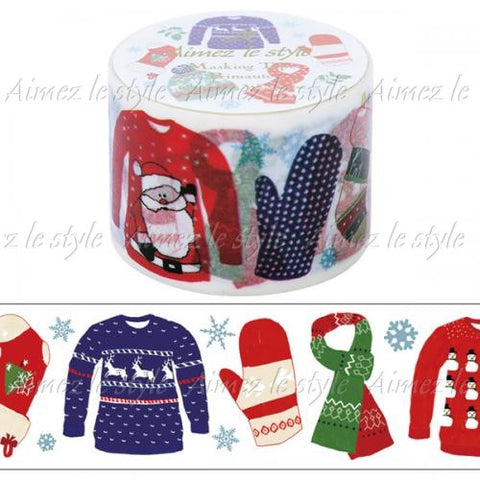 Christmas Wardrobe Japanese Washi Tape Aimez le style