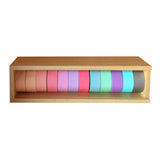 Little B Storage Case Wooden • Hold 12 Washi Tapes