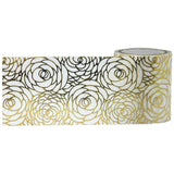 Gold Roses Foil Tape Decorative Tape • Little B Foil Tape