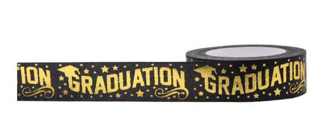 Graduation Gold Tape • Little B Decorative Foil Tape