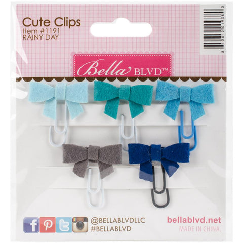 Rainy Day Bella Blvd Embellishment Cute Clips Mini Bows