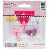 Baby Girl Bella Blvd Embellishment Cute Clips Mini Bows Pastel Colors