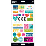 His Name 2 Illustrated Faith Basics Elements Stickers
