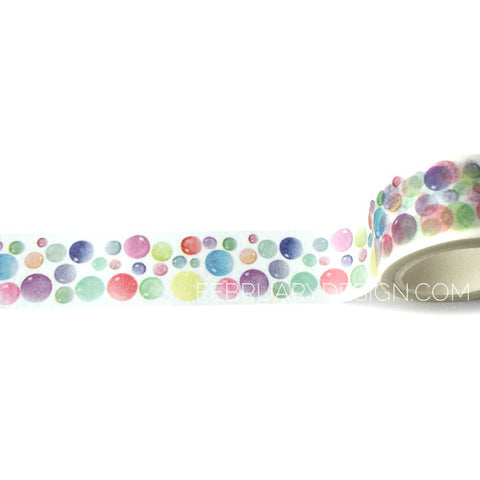 Bubbles Washi Tape
