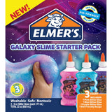 Elmer's safe, nontoxic, and washable glues are the secret to endless slime fun! Take your slime making experience to a whole new level with this 3 colored glitter pack. It's out of this world! This package contains one Classic Glitter Glue in Pink (6oz), one Classic Gllitter Glue in Purple (6oz), one Classic Glitter Glue in Blue (6oz) and one Kid-Friendly Recipe.