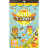 Camp Tweet 320/Pkg Sticker Book