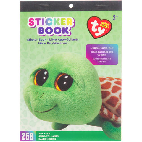 Beanie Boos Sticker Book Zippy™ the Turtle, 258 stickers