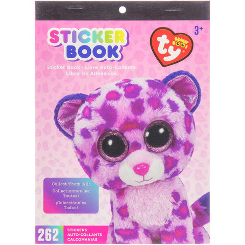 Beanie Boos® Sticker Book Glamour™ the Leopard, 262 stickers