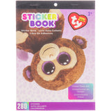 Beanie Boos® Sticker Book Coconut™ the Monkey, 280 stickers