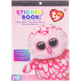 Beanie Boos® Sticker Book Pinky™ the Owl, 248 stickers