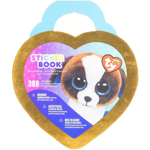 Beanie Boos Glitter & Foil Sticker Book Duke™ Duke The St. Bernard 388/Pkg