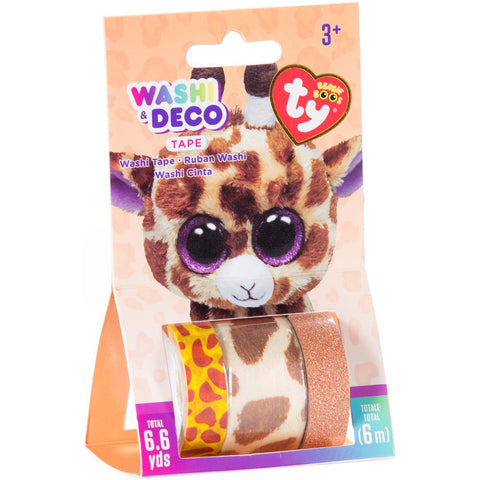 Beanie Boos® Washi & Deco Tape for Kids Safari™ Giraffe Set, 3 pieces