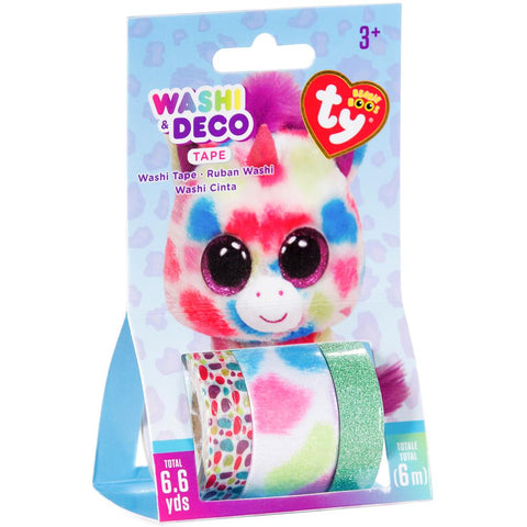 Beanie Boos Washi & Deco Tape for Kids Wishful™ Unicorn Set, 3 pieces