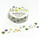 Flower Garden Naginohi Masking Tape • Japanese Washi Tape