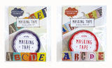 Alphabet Washi Tape Set (2 rolls)