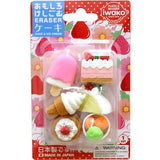 Dessert Sweet Treats Pack Eraser Iwako