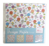 "Colorful Motif Design Paper Pad 6""X6"" 48/Pkg • Amifa"