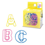 ABC Paper Clips (14pcs) Mind Wave Alphabet Paper Clips