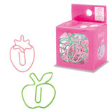 Apple & Strawberry Paper Clips (14pcs) Mind Wave Fruits Paper Clips