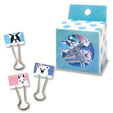 Animal Binder Clips (9pcs) Mind Wave Clips
