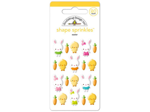 Easter Doodlebug Collection Bunnyville Sprinkle Shapes