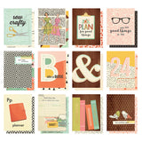 "Reset Girl Double-Sided Pocket Cards 3""X4"" 12/Pkg"