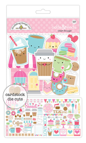 Cream & Sugar Doodlebug Odds & Ends Die-Cuts (103/Pkg)