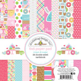 "Cream & Sugar Doodlebug Double-Sided Paper Pad 6""X6"" 24/Pkg"