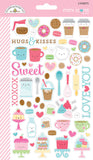 SALE Cream & Sugar Mini Icons Stickers Doodlebug