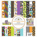 "BooVille Doodlebug Double-Sided Paper Pad 12""X12"""