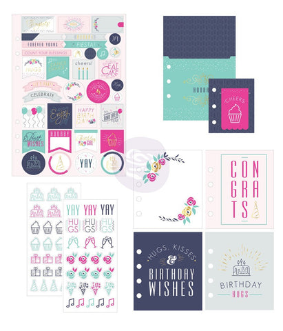 Celebrate My Prima Planner Goodie Pack Embellishments