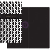 Black & White with Black Paper Prima Traveler's Journal Notebook Refill 32 Sheets