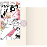 Mosaic with Ivory Paper Prima Traveler's Journal Notebook Refill 32 Sheets