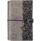 Gemini PTJ Personal Size Prima Traveler's Journal. Gemini is a new Traveler's Journal with a gorgeous glittered cover.