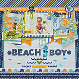 Great View Secrets Of The Sea Boy Washi Tape