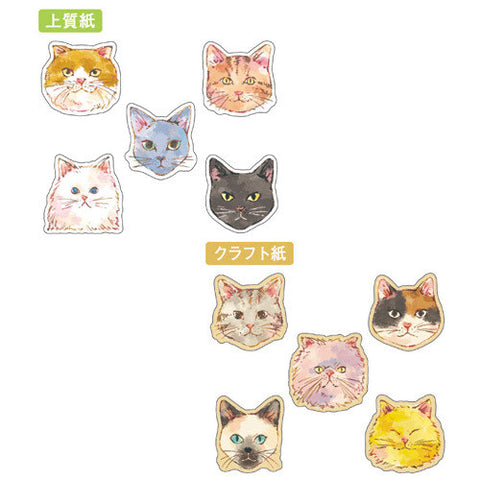Cat Sticker (70 pieces) Mind Wave Flake Seals Sticker Favorite Seal