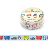 London Street Masking Tape • Japanese Washi Tape