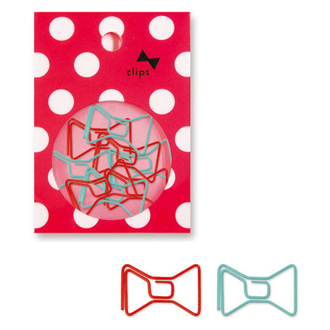 Bow Tie Paper Clips (18pcs) Mind Wave Girl Paper Clips