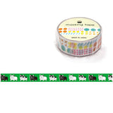 Buru Buru French Bulldog Washi Tape • Mind Wave Japanese Washi Tape