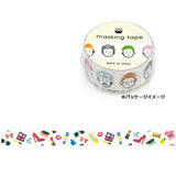 Girl's Motif Washi Tape • Mind Wave Japanese Washi Tape