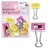 Kitty Cat Binder Clips (10pcs) Mind Wave Clips
