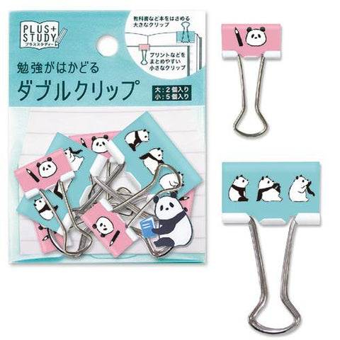 KIGURU ME Panda Binder Clips (10pcs) Mind Wave Clip