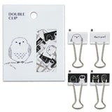Hello Owl Philo Binder Clips (10pcs) Mind Wave Clips