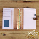 A5 Binder Only • Walnut Color Crush Webster's Pages • FREE WASHI TAPE