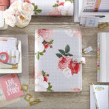 Gray Floral A5 Planner Kit Color Crush Webster's Pages • FREE WASHI TAPE