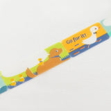 Let's Go! Go For It! Round Top Masking Tape • ASAMIDORI Duck
