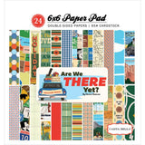 "Are We There Yet? Carta Bella Double-Sided Paper Pad 6""X6"" 24/Pkg"