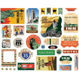 Are We There Yet? Ephemera Cardstock Die-Cuts 33/Pkg