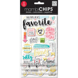 Favorite Chipboard Sticker (4 Sheets) Me & My Big Ideas Chipboard Value Pack