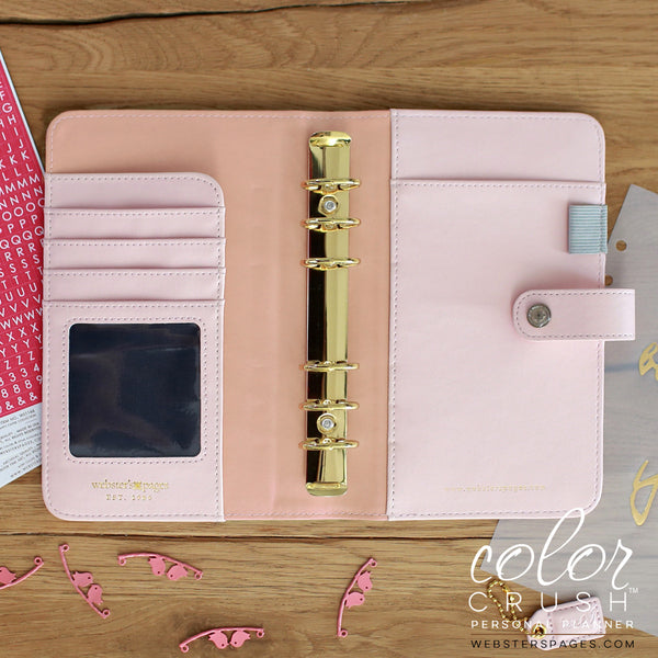 Personal Planner Kit Platinum Rose Color Crush Webster S